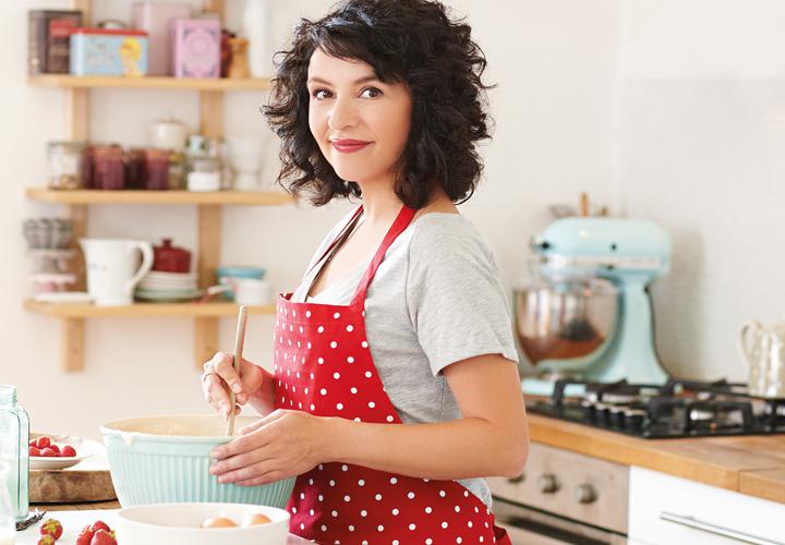 Karolína, domácí kuchařka – štěstí z kuchyně – kniha
